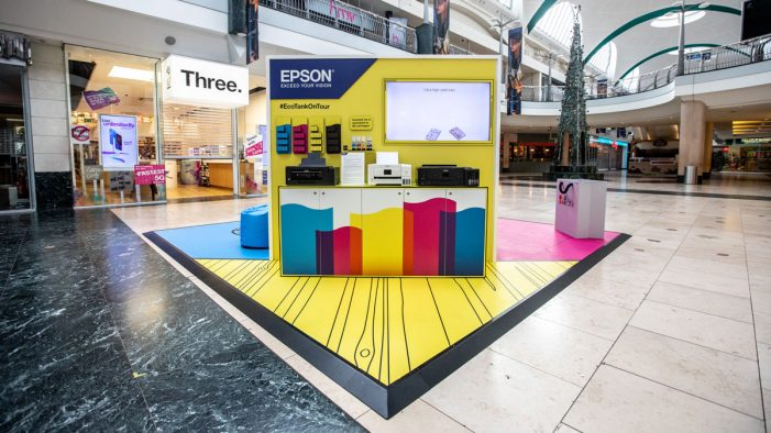 Wonder creates Instagrammable activation for Epson, with pop-up roadshow in three major cities