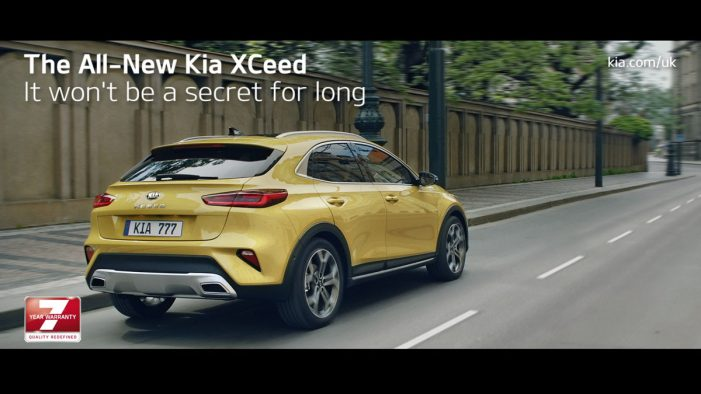 KIA launches all-new XCeed with primetime TV takeover