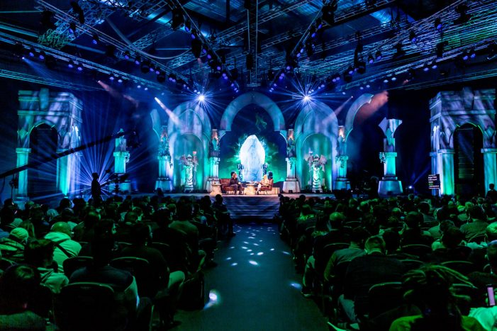 Collider and Riot Games transform the ExCel London for the League of Legends 10 year celebration