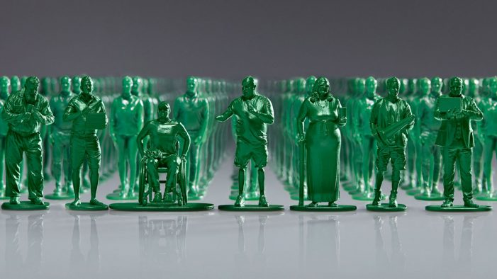 Help for Heroes' miniature model installation illustrates huge number of wounded UK veterans