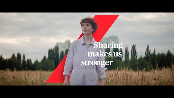 AXA launches 'Sharing Makes Us Stronger' campaign with Fallon London