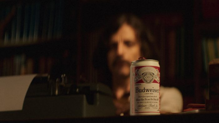 Budweiser pays homage to John Carpenter, producer and screenwriter of Halloween II