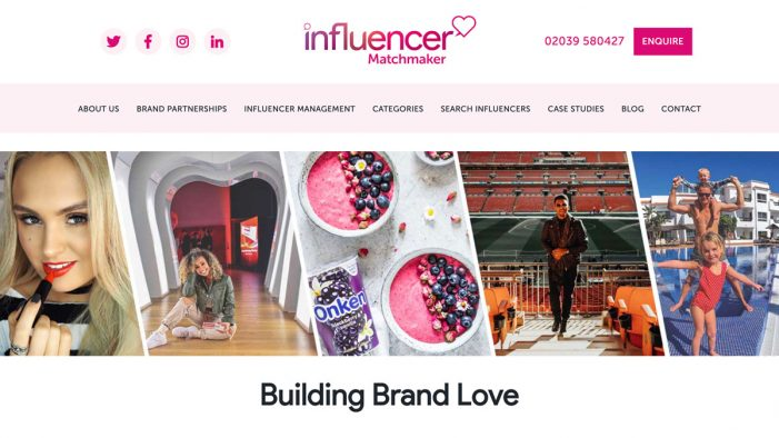 Award-winning influencer marketing agency unveils brand new look