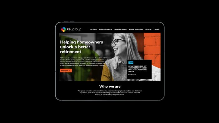 Key Retirement Group rebrands to Key Group, and unveils new brand in a bid to lead later-life lending sector