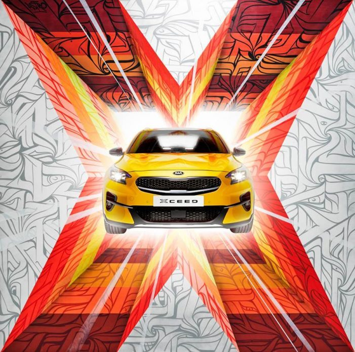Bridge Studio help Kia promote the launch of their all-new Kia Xceed with an 'X-traordinary Art' campaign