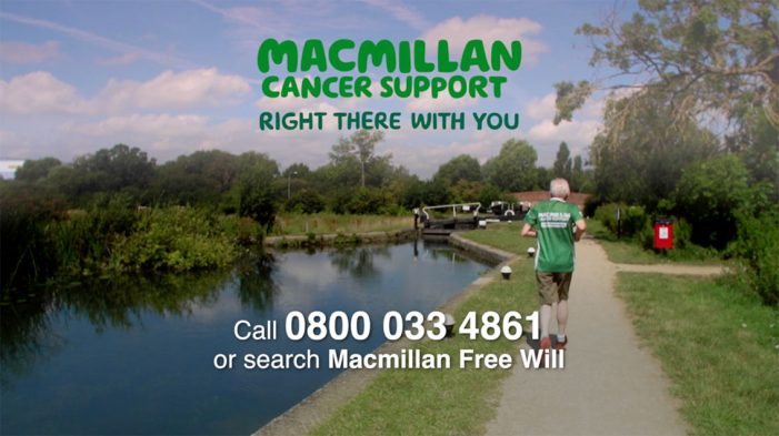 Macmillan sees registrations for free will service take off within a month of campaign launch