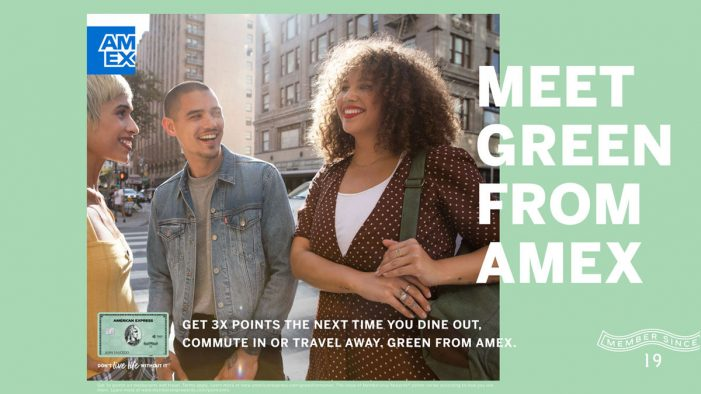 "American Express unveil new ""I Got This"" campaign to promote their iconic Green Card"