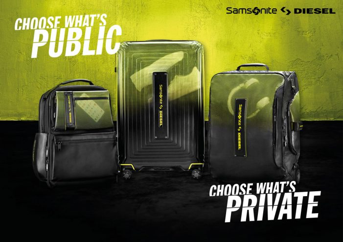 SMALL launch Samsonite x Diesel global collaboration