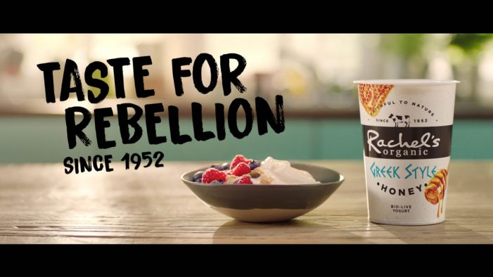"Rachel's Organic ""Taste for Rebellion"" campaign tells trailblazing story of three generations of female farmers"