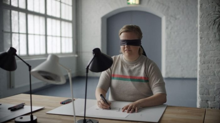 TBWA\Helsinki's new ad campaign was designed blindfolded to illustrate the importance of client feedback