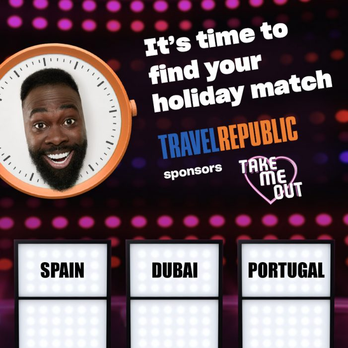 Travel Republic sponsors prime time ITV dating show Take Me Out