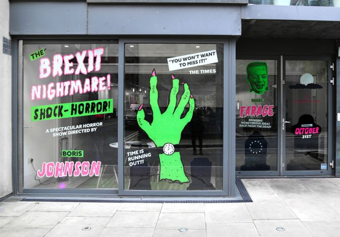 Williams Murray Hamm showcase Brexit horror windows