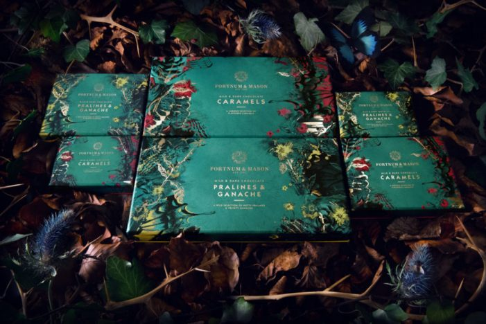 Design Bridge create 'wild and rebellious' new chocolate range for Fortnum & Mason
