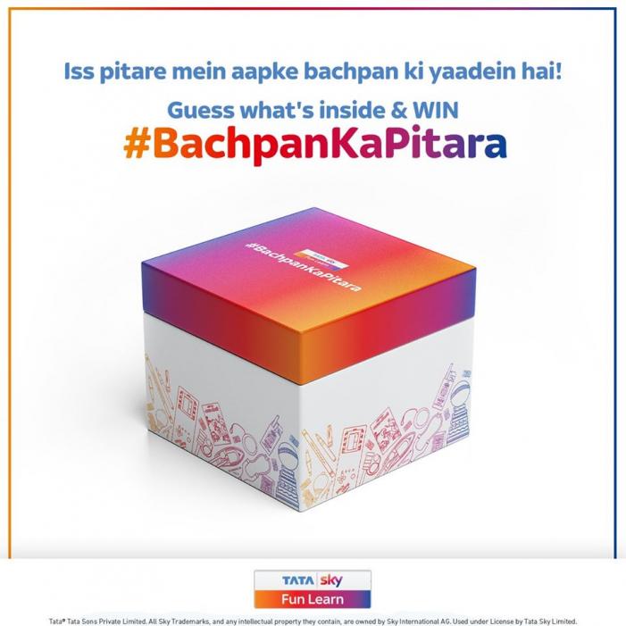 Tata Sky Unboxes #BachpanKaPitara