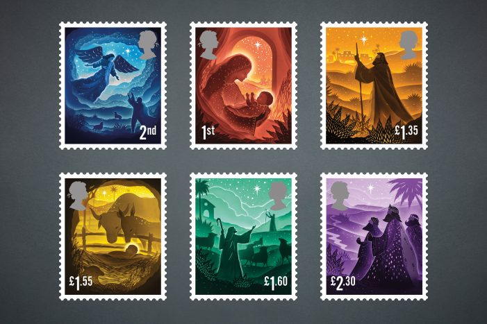 Royal Mail unveils 2019 Christmas Special Stamps, designed by Charlie Smith Design
