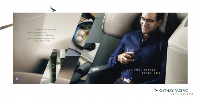 Cathay Pacific Launches Enhanced Business Class Experience