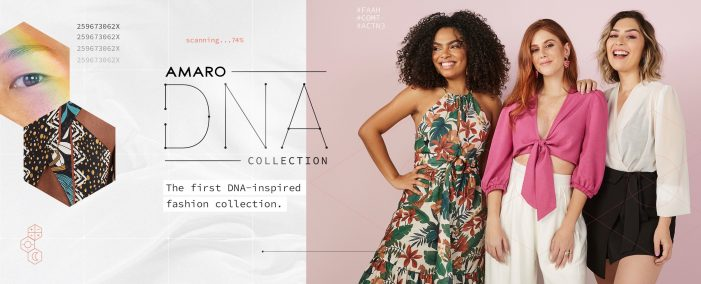 Brazilian brand Amaro creates first DNA-inspired fashion collection