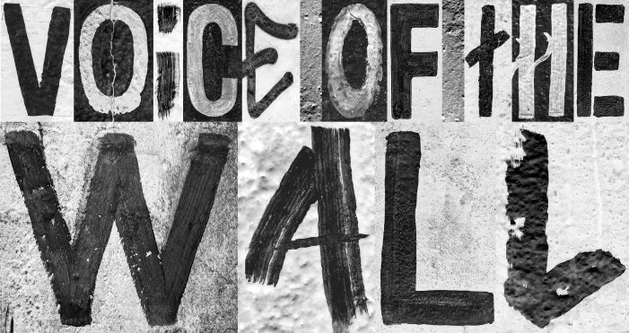 If Walls Could Talk – A Typeface Inspired By Original Graffiti