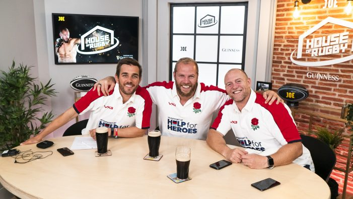 Rugby Stars Kick-Off Help For Heroes Influencer Strategy