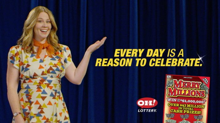 "OH Lottery: ""Every Day is a Day to Celebrate"" with Merry Millions Scratch Off"