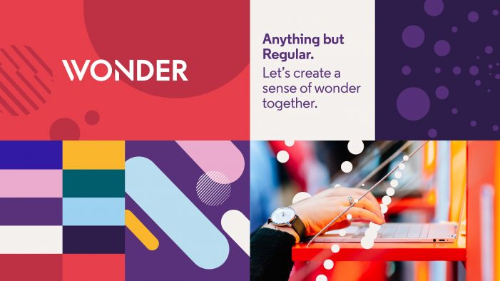 Events agency Wonder reveals new brand refresh by Studio Output