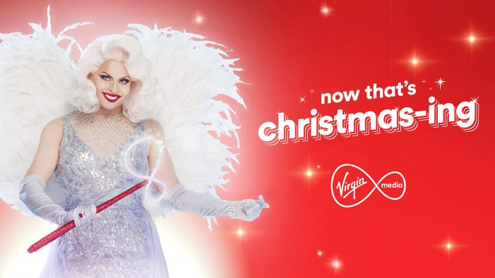 Virgin Media launches first ever Christmas campaign by Rapp UK