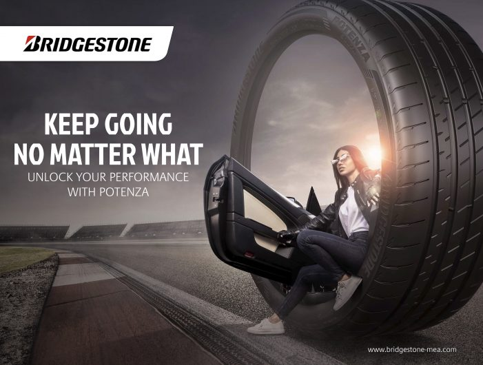 Keep Going No Matter What Is The Mantra of New Bridgestone MEA Campaign from Serviceplan Middle East