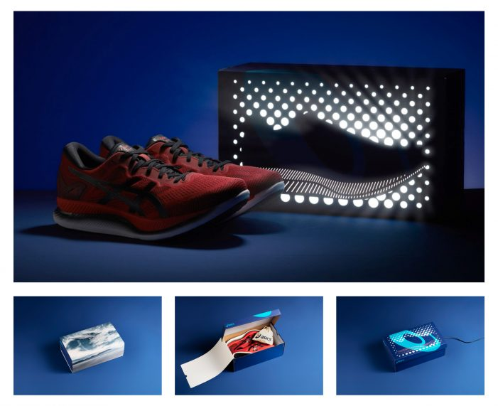 ASICS shine bright with new energy saving running shoes