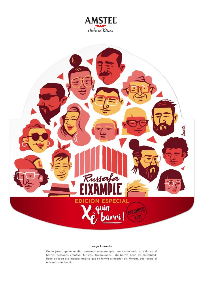 Serviceplan Spain and Amstel Collaborate with Artists And Illustrators To Create XÈ QUIN BARRI! Campaign for Amstel