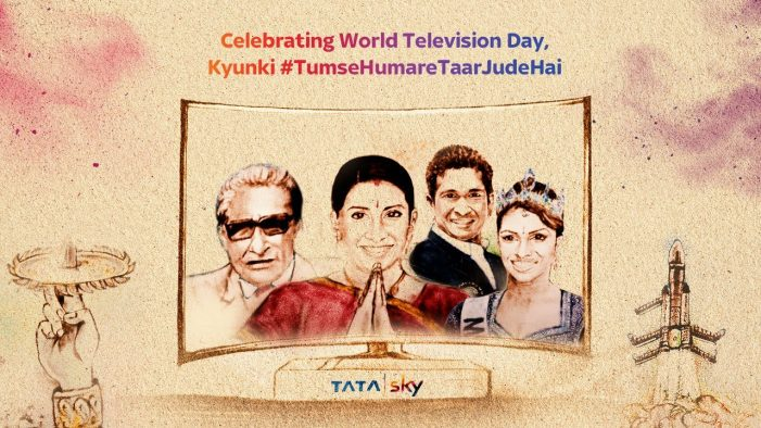 Tata Sky's #WorldTelevisionDay Campaign Garnered 3M Views in 1 Day