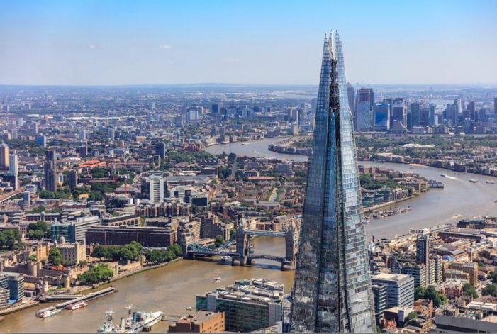 The View from The Shard appoints Quiet Storm to reposition its brand at London's Highest Viewing Gallery