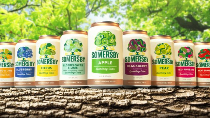 Carlsberg refreshes the Somersby brand with Elmwood Leeds to bring life to the 'living tree'