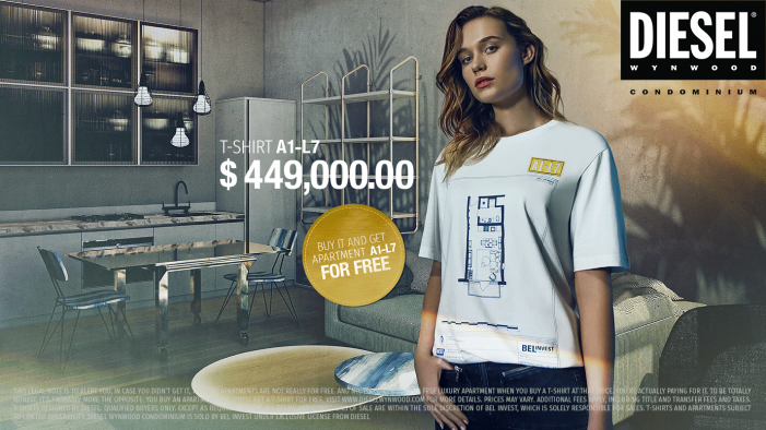 Diesel Presents… The Condo T-Shirts–The Most Expensive T-Shirts Ever!