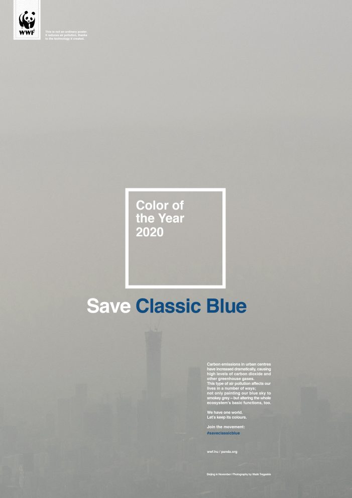 WWF Hungary Wants Us To  Save Pantone's Colour Of The Year. Again.