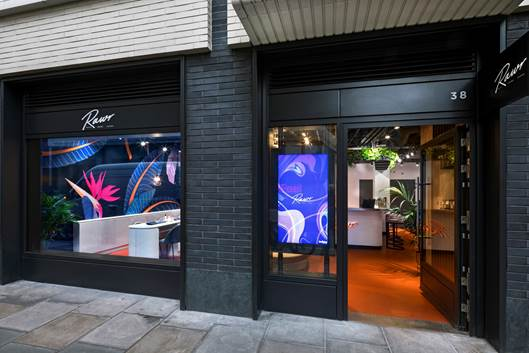 New beauty brand RAWR launches flagship London store with celebrity bash