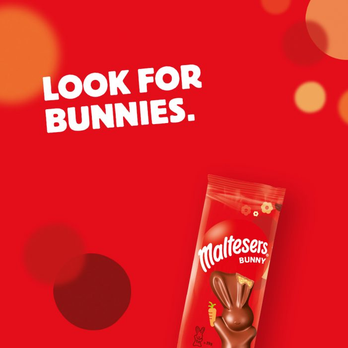 Maltesers calls on the nation to join AR scavenger hunt for escaped Bunnies