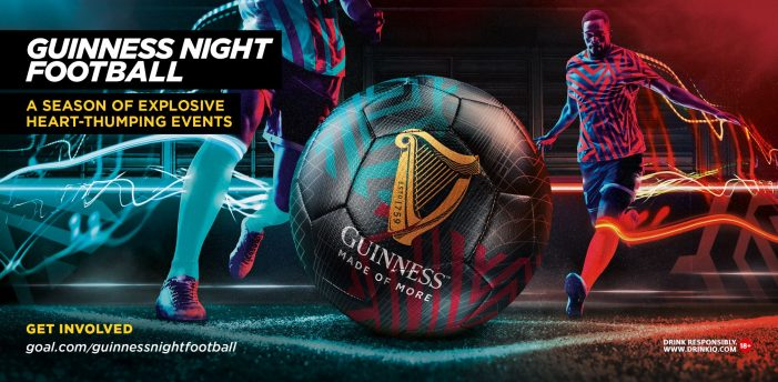 Guinness and HeyHuman launch Pan-African 'Guinness Night Football' spectacle alongside sports legend