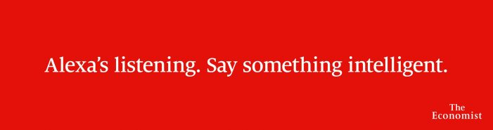 The Economist Launches New Out-Of-Home Advertising Campaign