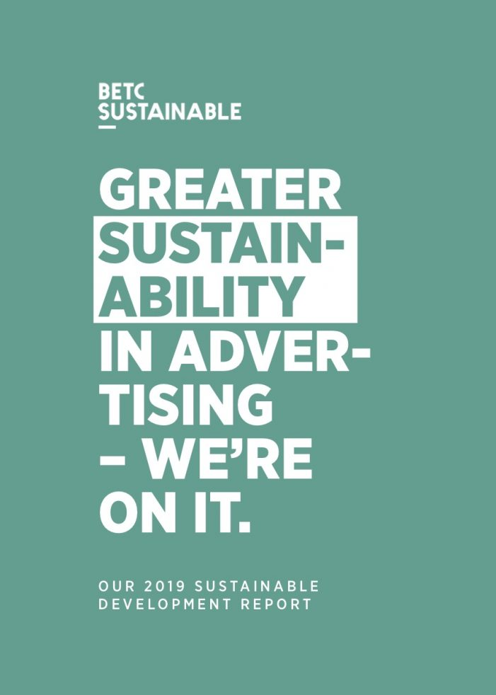 BETC Sustainable Development 2019 Report