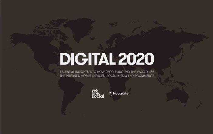Digital 2020: Social media use spans almost half global population