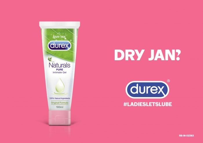 Dry Jan? DUREX Says Ladies, Let's Lube