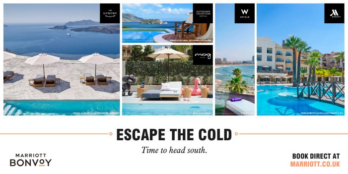 Marriott International Plays on the Senses to Inspire Consumers to Plan A Holiday
