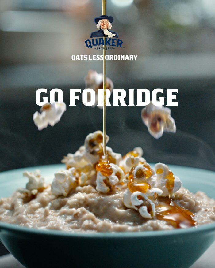 Quaker Encourages The Nation To 'Go Forridge' For Delicious Topping Inspiration With Its Latest Campaign