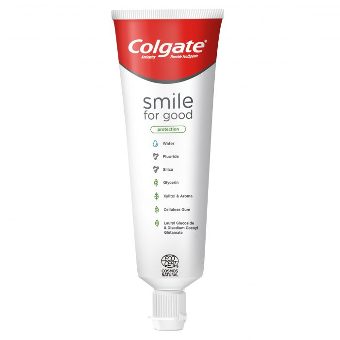 Colgate® Launches Smile For Good Toothpaste With a New Level Of Ingredient Transparency And a First-Of-Its Kind Recyclable Tube