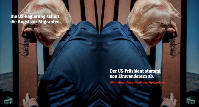 """""""We Hold The Mirror Up To This World"""" – SPIEGEL, Germany's Respected News Title Launches Cross-media Brand Campaign Together with Serviceplan"""