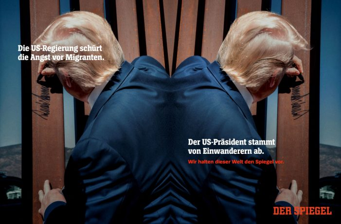 """We Hold The Mirror Up To This World"" – SPIEGEL, Germany's Respected News Title Launches Cross-media Brand Campaign Together with Serviceplan"