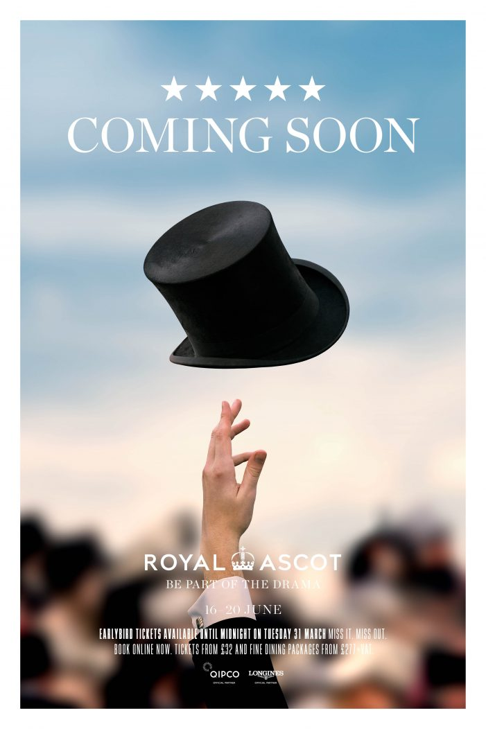 Ascot Racecourse Launches Cinematic Film Trailer In A New Brand Campaign Ahead Of Royal Ascot 2020