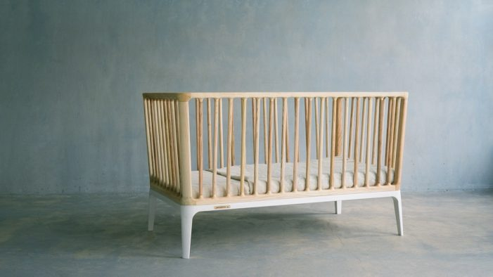 Cot designed and created without any use of oil, gas or coal