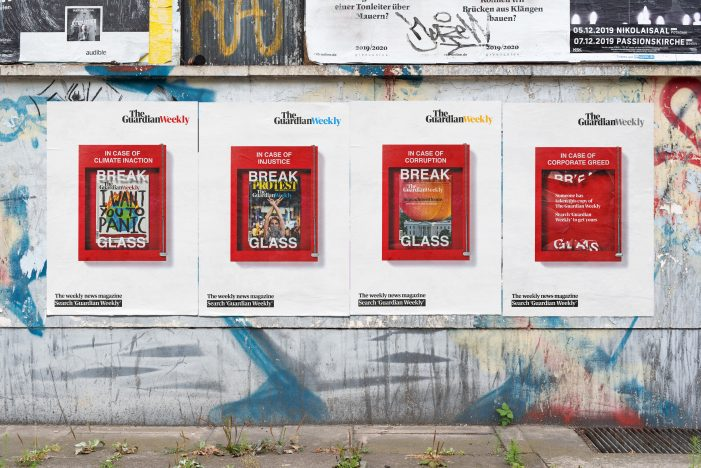 The Guardian launches Berlin experiential to market its international magazine, Guardian Weekly