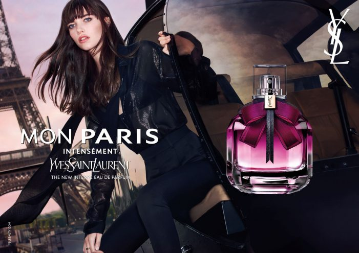 Yves Saint Laurent Beauty And BETC Etoile Rouge Declare Their Love For Paris In The New Mon Paris Fragrance Campaign